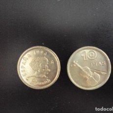 Monedas Juan Carlos I: MONEDA 10 PESETAS JUAN CARLOS I 1994 SC DE CARTUCHO. P SARASATE. DE BOLSA.. Lote 95898004