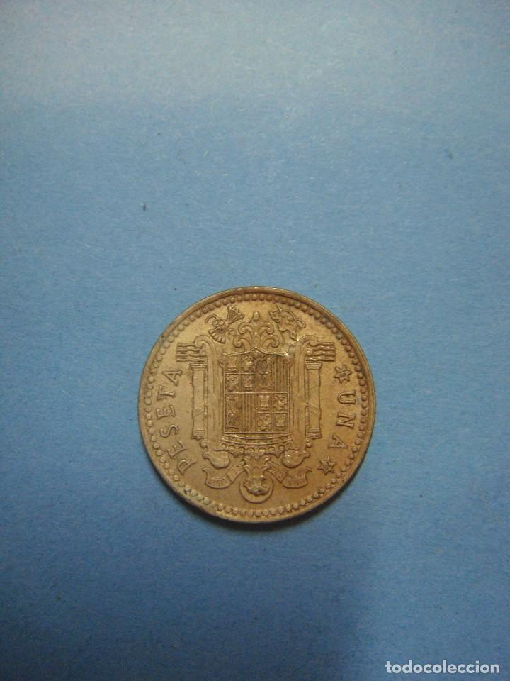 Monedas Juan Carlos I: MONEDA DE ESPAÑA. MONEDA DE UNA PESETA. 1 PTAS. JUAN CARLOS I. 1975. ESPAÑA - Foto 2 - 68965945