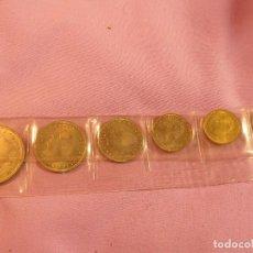 Monedas Juan Carlos I: ESTUCHE DE 6 MONEDAS, PRIMER DIA DE CIRCULACIÓN, EN 1980, DE JUAN CARLOS I S/C. Lote 69430733