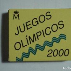 Monedas Juan Carlos I: JUEGOS OLIMPICOS 2000 - ESTUCHE 1000 PESETAS 1999 - PLATA PROF - ORIGINAL FNMT. Lote 69857433