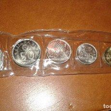 Monedas Juan Carlos I: TIRA DE MONEDAS DE 1980 *19-80. 100, 50,25, 5, 1 Y 0,50 CENTIMOS. PESETAS.. Lote 108802982