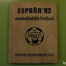 Monedas Juan Carlos I: COLECCIÓN DE MONEDAS MUNDIAL DE FUTBOL ESPAÑA 82. 6 MONEDAS. SERIE NUMISMÁTICA. 1980.. Lote 72101327