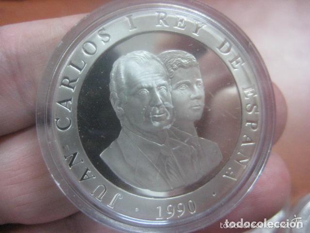 Monedas Juan Carlos I: 2000 PTAS.PLATA. SERIE II- XXV OLIMPIADA BARCELONA´92.- ATLETA GRIEGO - Foto 2 - 72136467