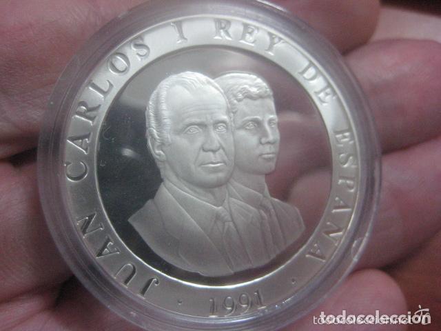 Monedas Juan Carlos I: 2000 PTAS.PLATA. SERIE II- XXV OLIMPIADA BARCELONA´92.- CESTA PUNTA - Foto 2 - 72136619