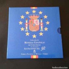 Monedas Juan Carlos I: COLECCION MONEDAS ESPAÑOLAS NO CIRCULADAS 1992. Lote 72159851