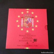 Monedas Juan Carlos I: COLECCION MONEDAS ESPAÑOLAS NO CIRCULADAS 1994. Lote 72161359