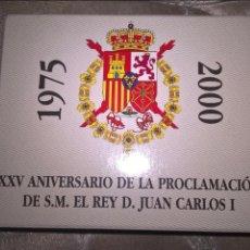 Monedas Juan Carlos I: 2000 PESETAS DE PLATA DE 2000. XXV ANIVERSARO PROCLAMACIÓN DE DON JUAN CARLOS I. Lote 214370045