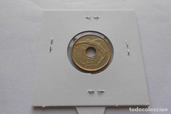 Monedas Juan Carlos I: 25 pesetas 1991 Rey - Foto 2 - 74151119