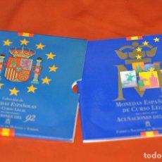 Monedas Juan Carlos I: CARTERA OFICIAL MONEDAS JUAN CARLOS ESPAÑA 1992 . Lote 74979543