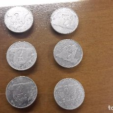 Monedas Juan Carlos I: LOTE DE 2 PESETAS. Lote 101182874