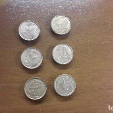 Monedas Juan Carlos I: LOTE DE 5 PESETAS BUBIAS. Lote 75595983