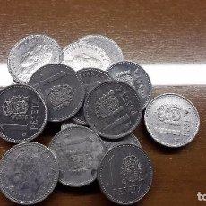 Monedas Juan Carlos I: LOTE DE 15 MONEDAS DE 1 PESETA. Lote 75596235