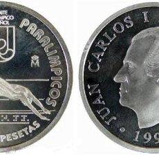 Monedas Juan Carlos I: ESPAÑA: 1000 PESETAS PLATA 1996 JUEGOS PARALIMPICOS ATLANTA 96. Lote 131547066