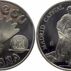 Monedas Juan Carlos I: ESPAÑA: 5 ECU PLATA 1992 CARLOS III - MADRID CAPITAL EUROPEA DE LA CULTURA. Lote 75812691