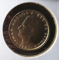 Monedas Juan Carlos I: MONEDA AÑO 1985 S/C 100 PTS FLOR DE LIS HACIA ANVERSO. Lote 76664311