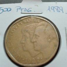 Monedas Juan Carlos I: QUINIENTAS PESETAS AÑO 1989 JUAN CARLOS I. Lote 78300198