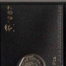 Monedas Juan Carlos I: ESPAÑA - JUAN CARLOS I - LAS 2 MONEDAS DE 1987. Lote 79017649