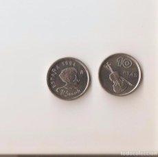 Monedas Juan Carlos I: BONITA MONEDA DE 10 PESETAS DE 1994 S/C LA DE LA FOTO VER TODOS MIS LOTES DE MONEDAS Y BILLETES. Lote 239359775