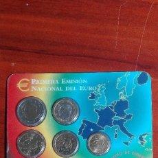 Monedas Juan Carlos I: CARTERA DE LA FNMT DEL AÑO 2002. Lote 79479625
