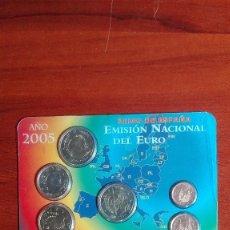 Monedas Juan Carlos I: CARTERA DE LA FNMT DEL AÑO 2005. Lote 79479829