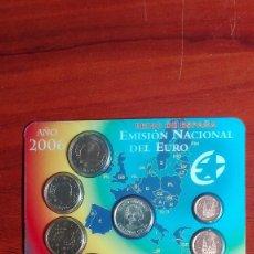 Monedas Juan Carlos I: CARTERA DE LA FNMT DEL AÑO 2006. Lote 79480149
