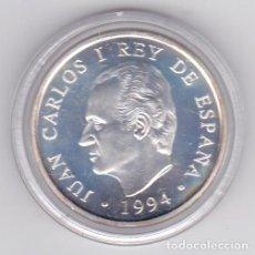 Monedas Juan Carlos I: 2000 PESETAS PLATA AÑO 1994, SIN CIRCULAR Y ENCAPSULADA. Lote 79915989