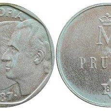 Monedas Juan Carlos I: 500 PESETAS 1987 PRUEBA -PLATA-. Lote 80738490