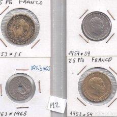 Monedas Juan Carlos I: INTERESANTE LOTE DE MONEDAS DE FRANCO (M2). Lote 82972956