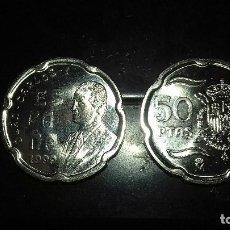 Monedas Juan Carlos I: MONEDA 50 PESETAS JUAN CARLOS I 1999 SC DE BOLSA.PTAS. Lote 114700075