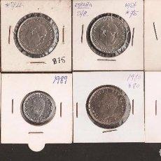Monedas Juan Carlos I: LOTE DE MONEDAS DEL REY Y FRANCO - LAS DE LAS FOTOS VER TODOS MIS LOTES DE MONEDAS. Lote 84487072