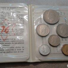 Monedas Juan Carlos I: CARTERA MONEDAS ESPAÑA 1975 ESTRELLAS 76 SIN CIRCULAR.. Lote 86011611