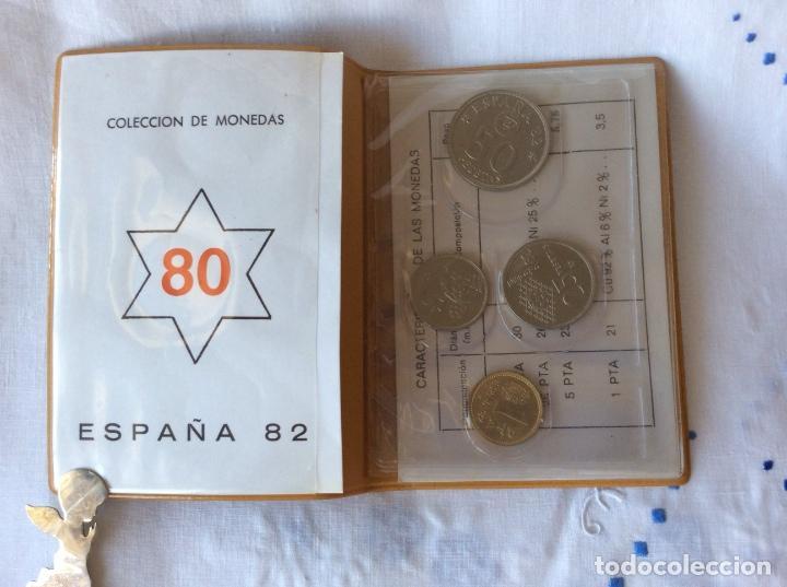 Monedas Juan Carlos I: Serie monedas mundial españa 82 año 1980 estrella 82 - Foto 2 - 86176728