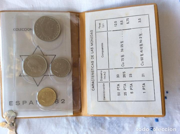 Monedas Juan Carlos I: Serie monedas mundial españa 82 año 1980 estrella 82 - Foto 3 - 86176728