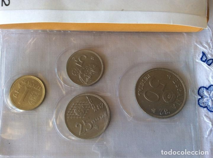 Monedas Juan Carlos I: Serie monedas mundial españa 82 año 1980 estrella 82 - Foto 4 - 86176728