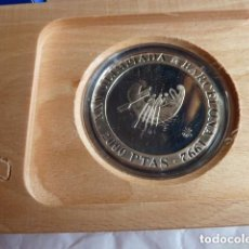 Monedas Juan Carlos I: 2000 PESETAS 1990 JUEGOS OLIMPICOS BARCELONA'92. 2ª SERIE. BARCA TAMUSIENS.. Lote 86443096