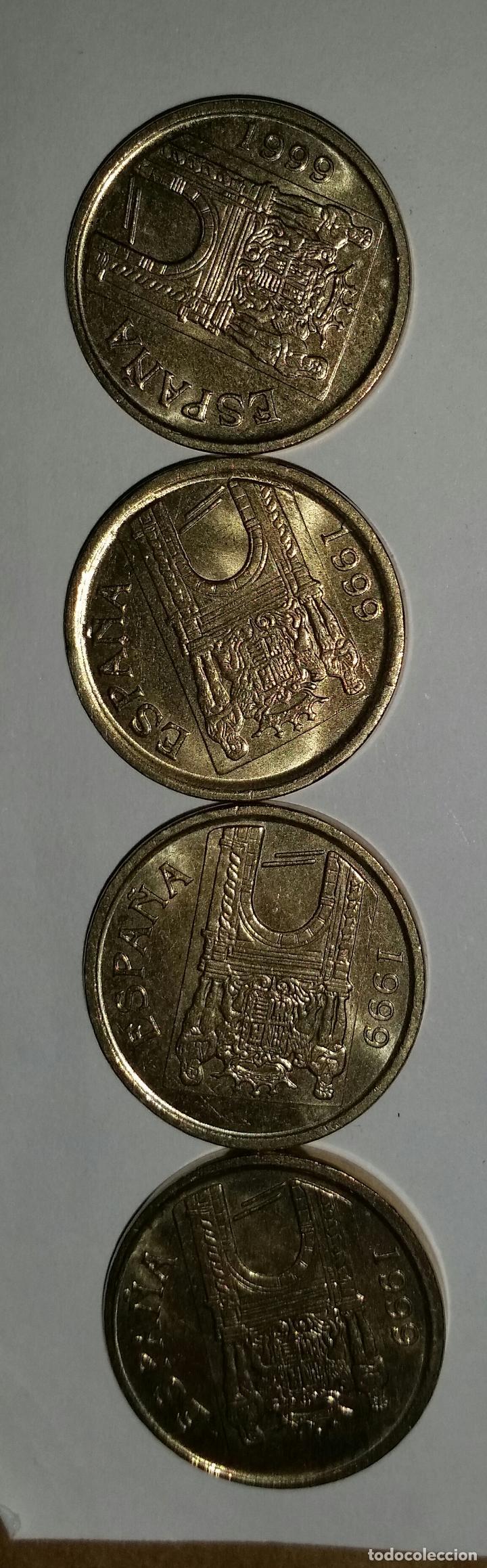 Monedas Juan Carlos I: LOTAZO 200 MONEDAS DE 5 PESETAS AÑOS 90 Y DE DISTINTAS PROVINCIAS - Foto 6 - 86661496