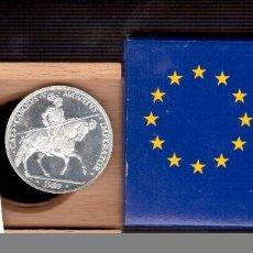 Monedas Juan Carlos I: MONEDAS DE ESPAÑA ECUS ESPAÑA DE PLATA . Lote 145481132