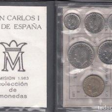 Monedas Juan Carlos I: CARTERA: 1983 JUAN CARLOS S/C. Lote 89712792