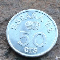 Monedas Juan Carlos I: ESPAÑA 50 CENTIMOS 1980*80 MUNDIAL 82. Lote 92226830