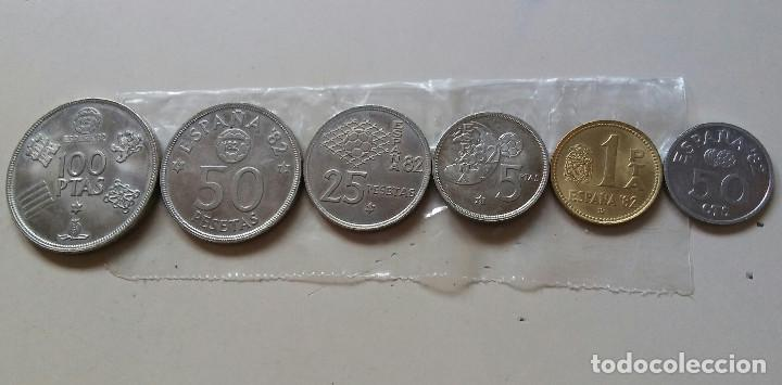 LOTE MONEDAS ESPAÑA 82 (Numismática - España Modernas y Contemporáneas - Juan Carlos I)