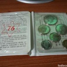 Monedas Juan Carlos I: CARTERA DE PRUEBAS NUMISMÁTICA. MONEDAS JUAN CARLOS I. AÑO 1975.ESTRELLA 76. Lote 95463150