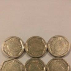 Monedas Juan Carlos I: LOTE DE 8 MONEDAS DE 200 PTAS. Lote 96317642