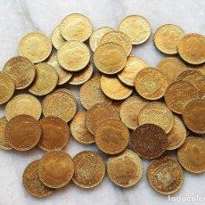 Monedas Juan Carlos I: LOTE 50 MONEDAS 1 PESETA 1975 JUAN CARLOS I. Lote 96929847
