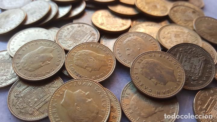 Monedas Juan Carlos I: LOTE 50 MONEDAS 1 PESETA 1975 JUAN CARLOS I - Foto 4 - 96929847