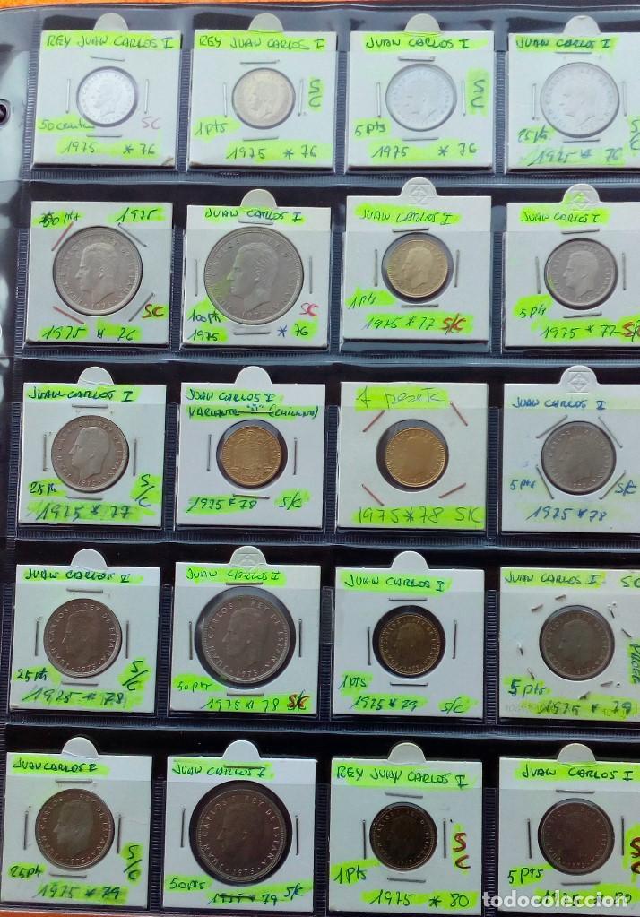 Monedas Juan Carlos I: COLECCION COMPLETA DE JUAN CARLOS I DE 1975 A 2001 (Sin circula)r - Foto 2 - 96949939