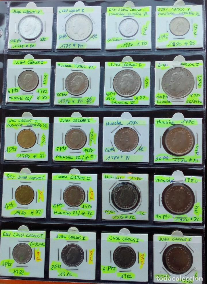 Monedas Juan Carlos I: COLECCION COMPLETA DE JUAN CARLOS I DE 1975 A 2001 (Sin circula)r - Foto 3 - 96949939