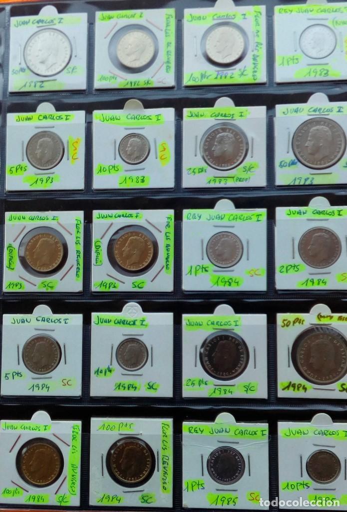 Monedas Juan Carlos I: COLECCION COMPLETA DE JUAN CARLOS I DE 1975 A 2001 (Sin circula)r - Foto 5 - 96949939