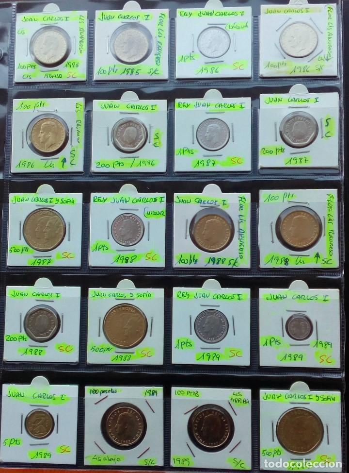 Monedas Juan Carlos I: COLECCION COMPLETA DE JUAN CARLOS I DE 1975 A 2001 (Sin circula)r - Foto 6 - 96949939