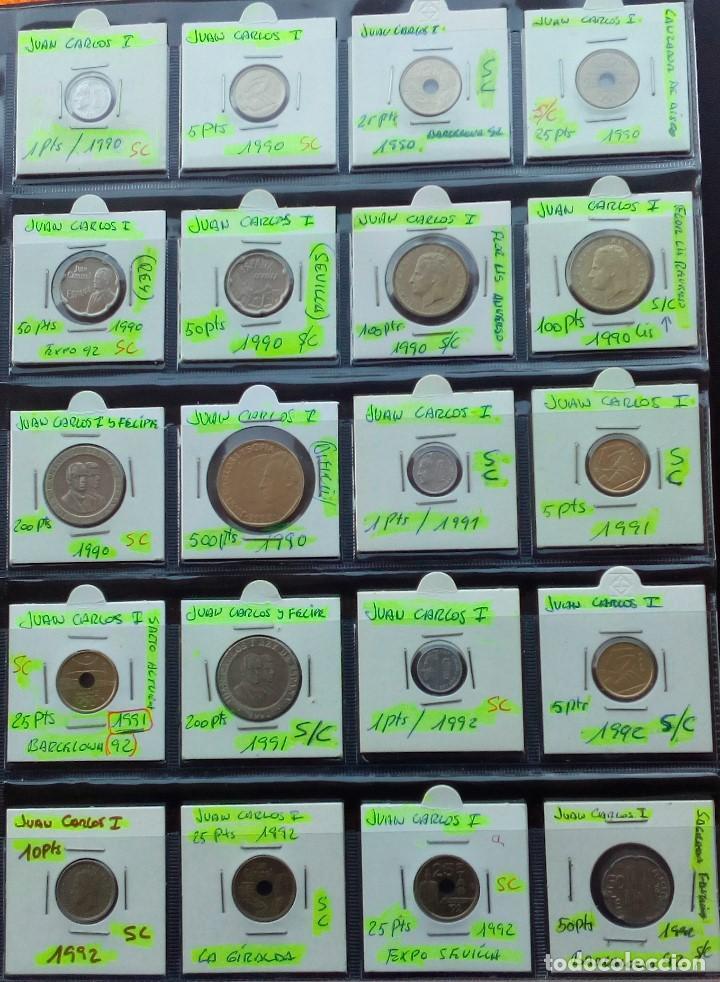 Monedas Juan Carlos I: COLECCION COMPLETA DE JUAN CARLOS I DE 1975 A 2001 (Sin circula)r - Foto 7 - 96949939
