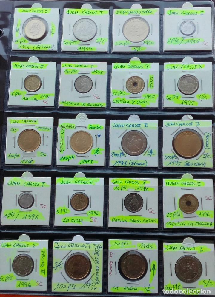 Monedas Juan Carlos I: COLECCION COMPLETA DE JUAN CARLOS I DE 1975 A 2001 (Sin circula)r - Foto 9 - 96949939